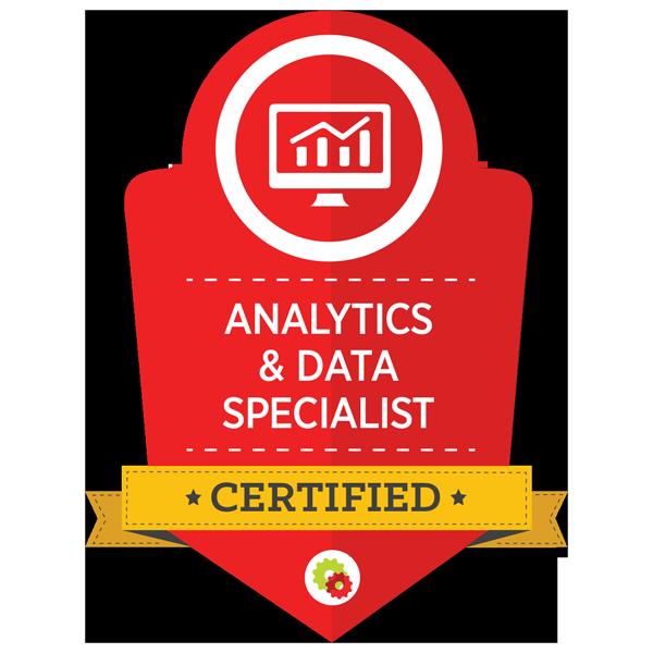 Analytics & Data Specialist Badge