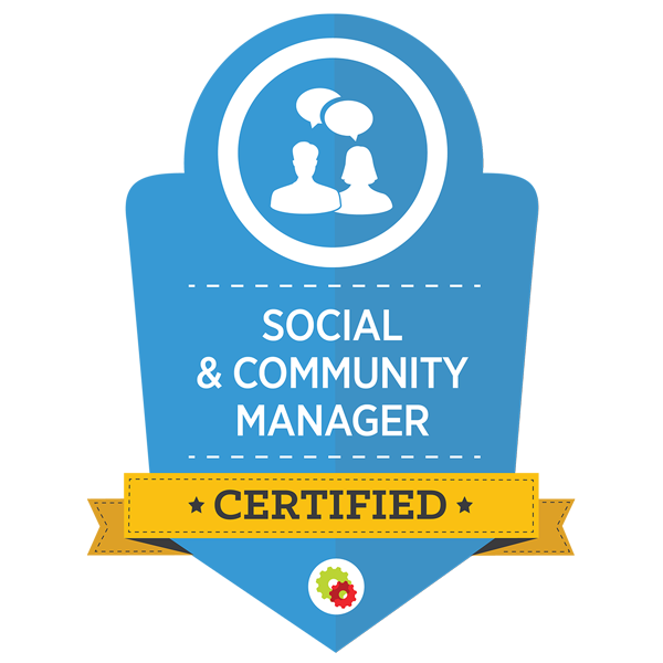 Social & Community Manager Badge