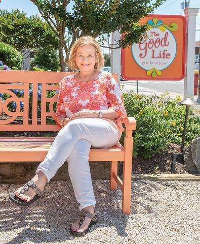 Nancy Norton at The Good Life Gift Boutique